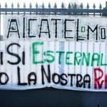 alcatel-protesta