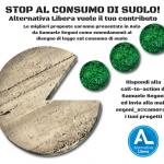 STOP AL CONSUMO DI SUOLO!