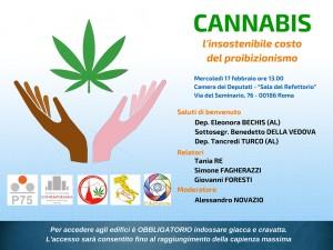 Evento cannabis 17 febbraio